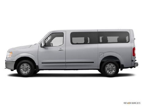 2014 Nissan NV Passenger SL V8