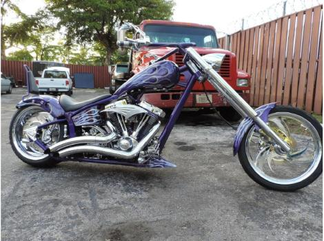2005 Kaotic Customs Spike Softail Chopper