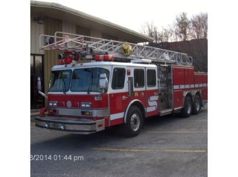 1995 E-ONE FIRE TRUCK
