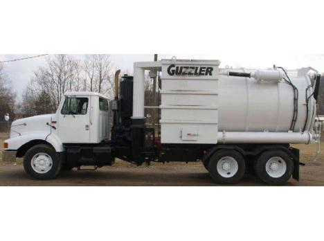 2002 Guzzler CL Industrial Vacuum Loader - 2734Hg