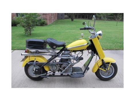 1958 Cushman Eagle, Twin Exhaust