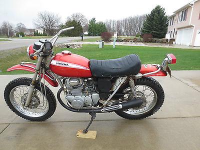 Honda : Other 1970 honda sl 350 motosport clear title