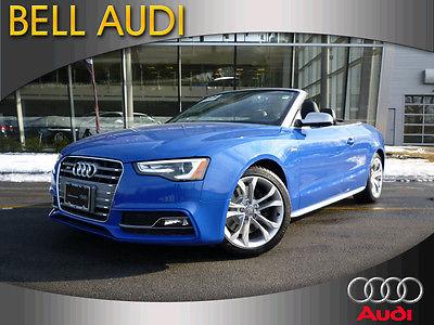 Audi : S5 Prestige Convertible 2-Door 2014 audi s 5 prestige convertible 2 door 3.0 l