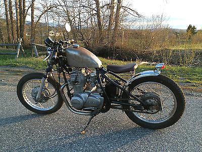 Custom Built Motorcycles : Bobber 1976 kawasaki kz 440 bobber custom motorcycle chopper cafe racer bike hard tail