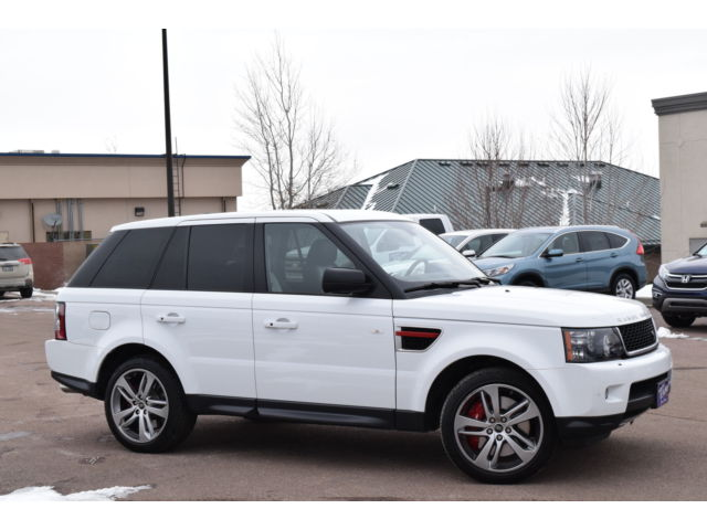 Land Rover : Range Rover Sport 4WD 4dr SC L Range Rover Sport 5.0 V8 Supercharged, Navi, Heated Leather, Limited Edition