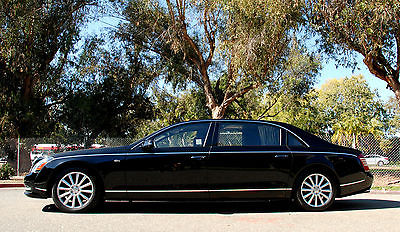 Maybach : 62S with Rear Partition**Super Rare & Sought After LWB Partition Baltic Black on Black with Rear  Factory Partition**1 Owner**All Service Records