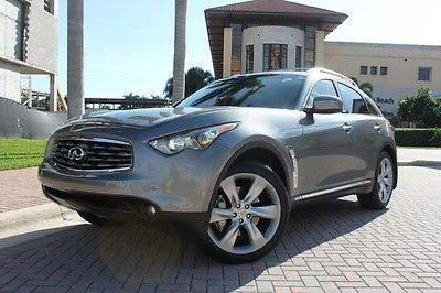 Infiniti : FX Base Sport Utility 4-Door 2011 infiniti fx 50 awd navi touring heated cooled seats 1 owner cameras fl car
