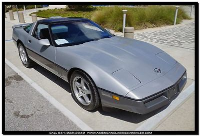 Chevrolet : Corvette Base 2dr STD Hatchback 1986 chevrolet corvette 38 k actual miles extra clean car from florida