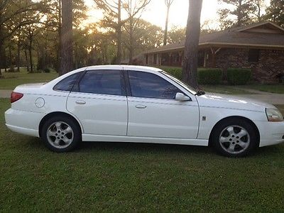 Saturn : L-Series L300 2003 saturn l 300 v 6 twin cam white sedan 185 k miles private owner
