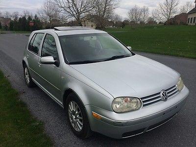 Volkswagen : Golf GLS TDI 2005 vw golf gls tdi silver 5 speed diesel