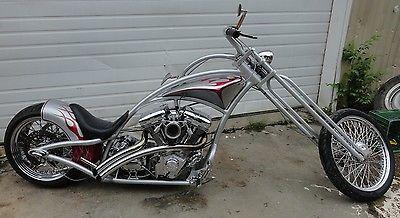 Custom Built Motorcycles : Chopper 2005 redneck engineering curves chopper revtech engine
