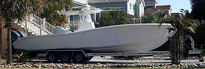 2010 Yellowfin 36ft Center Console  w/ 3 x 2014 (new) F-300 Yamaha  O/B Motors