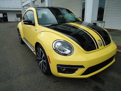 Volkswagen : Beetle - Classic GSR Beetle Coupe GSR I4 Turbo Automatic Yello Nav Sunroof Leather Push button start