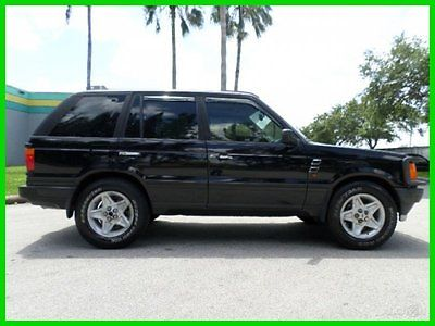 Land Rover : Range Rover 4.6 HSE AWD 4Dr SUV 1996 land rover range rover 4.6 hse automatic 4 x 4 black over black