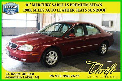 Mercury : Sable LS PREMIUM 2001 ls premium used 3 l v 6 24 v fwd sedan
