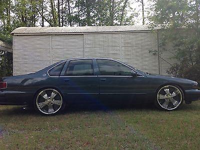 Chevrolet : Impala SS 1996 impala ss 4 door sedan