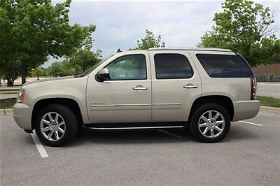 GMC : Yukon AWD 4dr 1500 Denali GMC Yukon AWD 4dr 1500 Denali Low Miles SUV Automatic 6.2L 8 Cyl Gold Mist Metal
