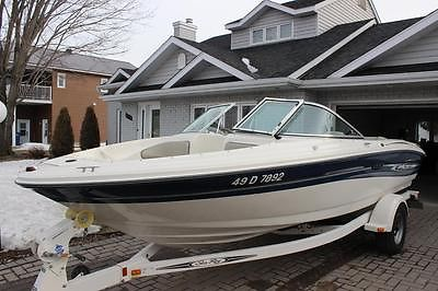 2007 Sea Ray 185 Sport Runabout with Sea Ray trailer