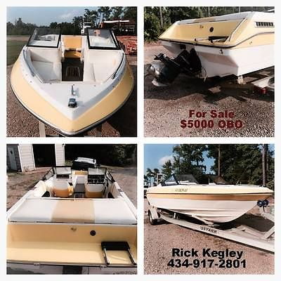 1986 Citation Boat, 21 foot and 2005 Trailer