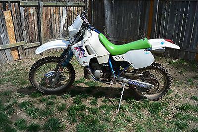 Kawasaki : KDX 1991 kawasaki kdx 200 enduro rare white