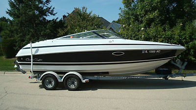 CHRIS CRAFT 210 BR OPEN BOW BOAT - BOW RIDER / RUNABOUT w/ BIMINI TOP