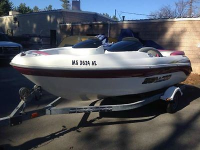 2002 Sea-Doo Jet Boat clean fresh water boat with trailer ready for the water