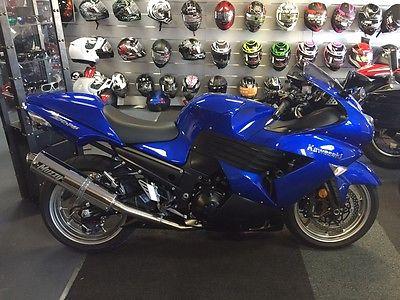 Kawasaki : Ninja Kawasaki Ninja Zx 14 Blue 2006 Only 2.433 Miles