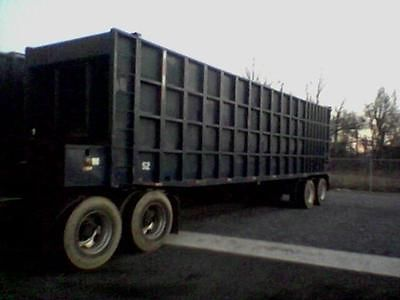 80 Yard Open Top Ejector/Transfer/Push Out Trailer