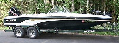 2002 NITRO 288, FISH & FUN 21 FT BOAT, 200 HP MERCURY,FISH FINDER, MANY EXTRAS.