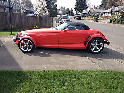 Plymouth : Prowler RED PROWLER 1999 RED