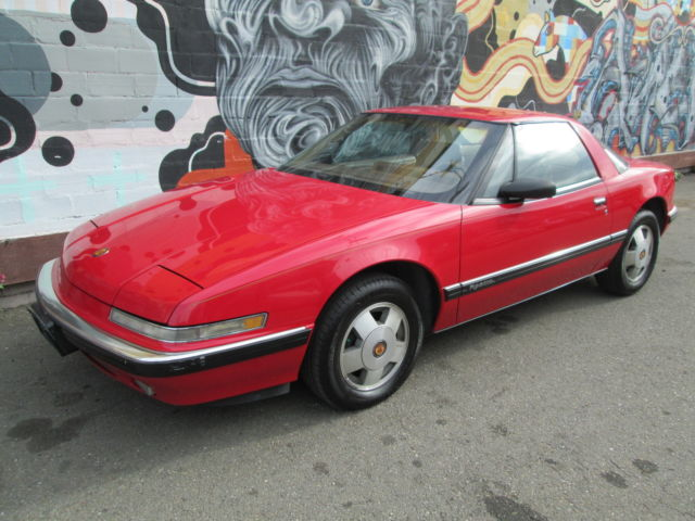 Buick : Reatta 2dr Coupe 1989 buick reatta coupe one owner california car records from new