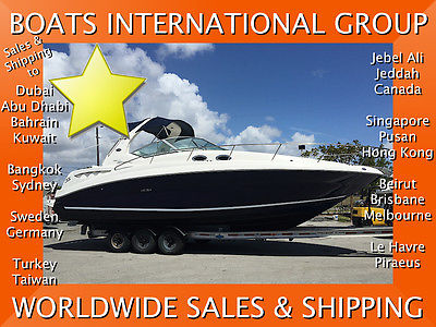 2004 SEA RAY 320 / 355 SUNDANCER LOW HOURS LOADED CE We Ship/Export Worldwide