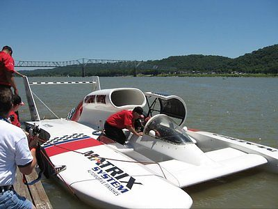 H1 Unlimited Hydroplane Allison V12 or T55L7C Lycoming Turbine Display Race Boat