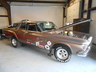 Dodge : Dart 2 DOOR 1962 dodge dart drag car