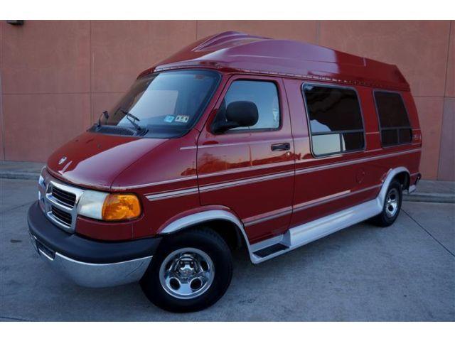Dodge : Ram Van HANDICAP HANDICAP 01 DODGE RAM 1500 ZEPHYR HI-TOP CONVERSION VAN ONLY 70K MILES MUST SEE!