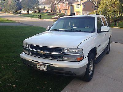 Chevrolet : Tahoe LT 2003 chevrolet tahoe lt sport utility 4 door 5.3 l