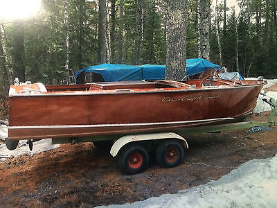 1956 17 Foot Fully Restored Chris Craft!!  Must See!