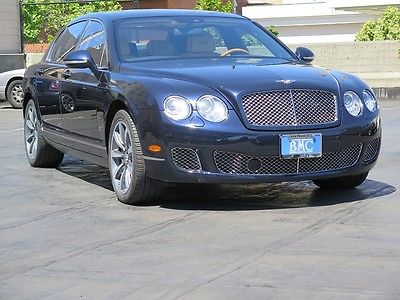 Bentley Continental Flying Spur Series 51 In Dark Sapphire With