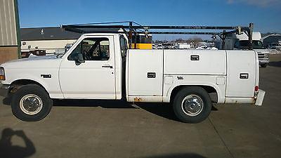 Ford : F-250 XL Standard Cab Pickup 2-Door 1997 ford f 250 xl standard cab pickup 2 door 5.8 l
