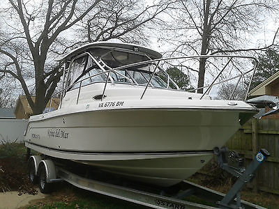 Robalo 245 (2009) AND 2010 LOAD RITE TRAILER