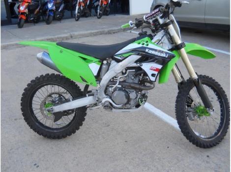 2009 Kawasaki KX 450F Monster Energy