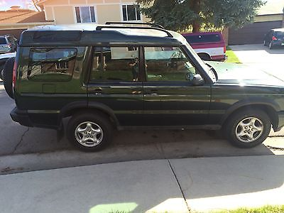 Land Rover : Discovery Series II Sport Utility 4-Door 2000 discovery ii 4 x 4 green good condition very well kept