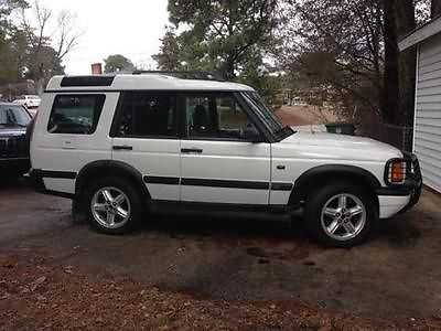 Land Rover : Discovery Discovery II  1999 white landrover discovery ii with leather interio dbl sunroofs grill