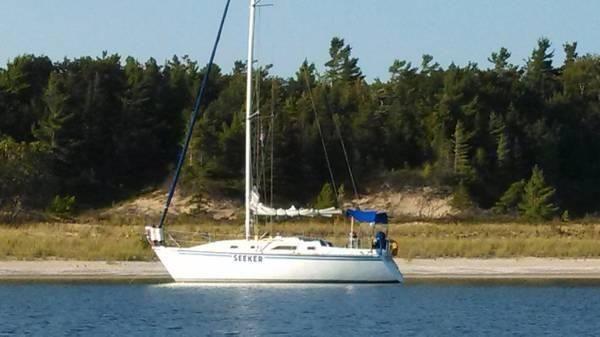 31' 1984 Hunter H31 Sailboat