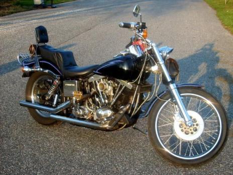 1982 Harley Wide Glide FXWG Shovelhead 80