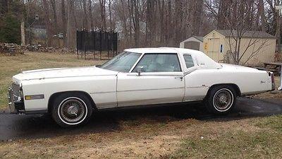 Cadillac : Eldorado Biarritz 1976 cadillac eldorado biarritz