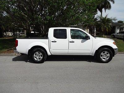 Nissan : Frontier SE CREW CAB - 4x4 -  4-Door 4 x 4 super clean title in hand