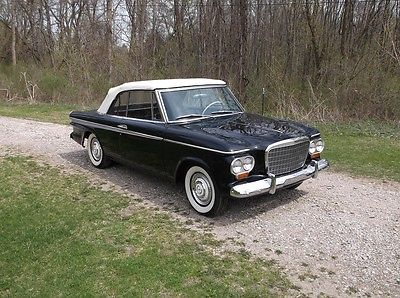 Studebaker : Lark Daytona Two-door 1963 studebaker black lark daytona convertible two door