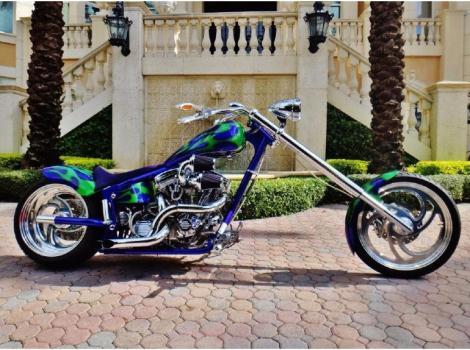 2003 Ironworks Rage Chopper