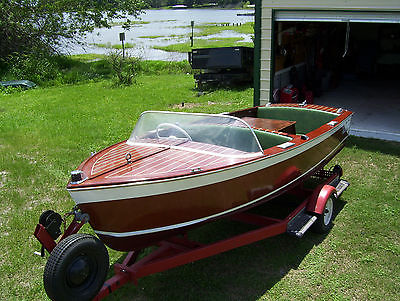 Chris Craft Wooden Boat